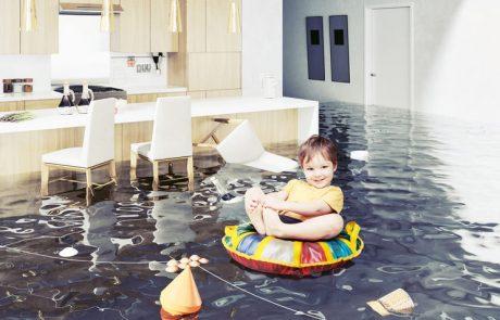 מה עושים במקרה של הצפה בבית